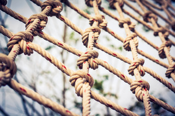 Vintage rope mesh