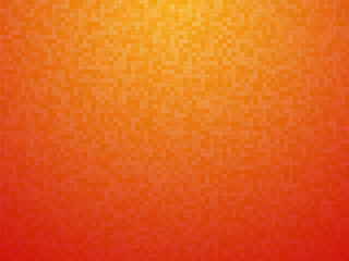 Colorful orange red checkered background