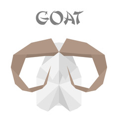 goat origami
