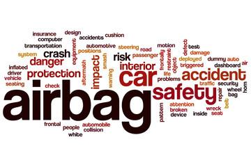 Airbag word cloud