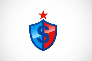 dollar shield logo
