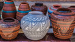 Clay Pots, Santa Fe, New Mexico - 75740984