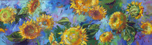 """Постер, картина, фотообои """"sunflower"""""""