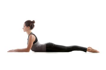 Yoga pose bhudjangasana