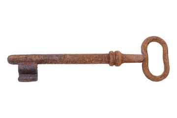 Old rusty key