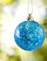 beautiful Christmas ball