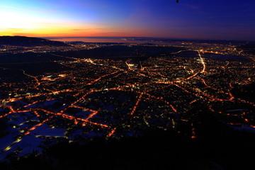 Luftaufnahmen über Dornbirn
