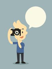 Taking photo