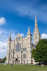 Salisbury Cathedral, Wiltshire, England, UK