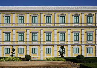 European style building elevation