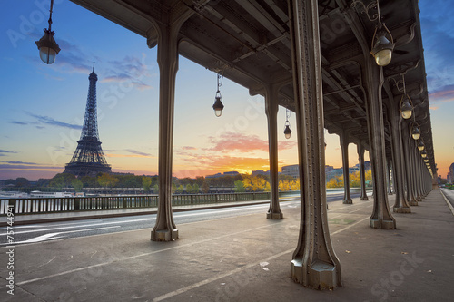 Canvas Parijs Paris.