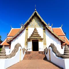 church watpumin at nan province of thailand