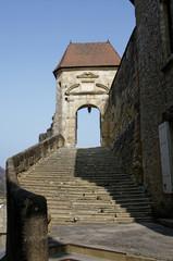 Porte d'entrée  Abbatiale de Saint-Antoine-l'Abbaye