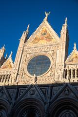 Siena Cathedral Front - Siena, Tuscany, Italy