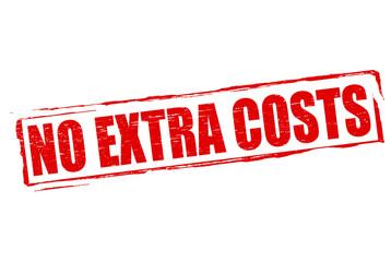 No extra costs