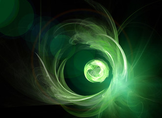 Green Planet - Futuristic Background