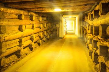 Corridor in Wieliczka