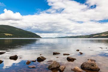 Loch Ness in the Scottish Highlands, Scotland