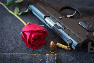 Rose and Gun