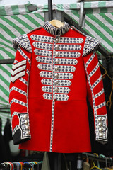 Red coat uniform