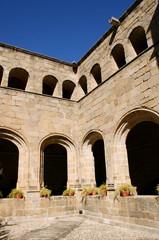 Cloister of San Benito convent, Alcantara (Spain)