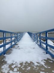 winter jetty