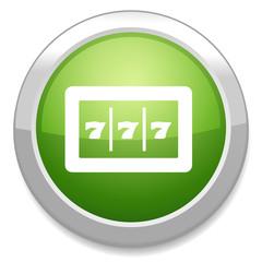 777 jackpot vector icon
