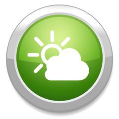 Cloud /  sun  icon. Weather symbol