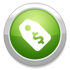 Dollars sign icon. money tag