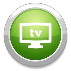 TV mode sign icon. Television symbol