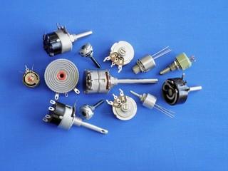 Regulatory knobs in various versions.