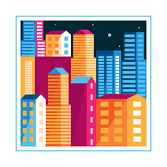 Vector city illustration