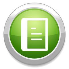 List icon. Content view option button