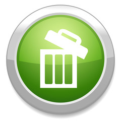 Recycle bin icon. trash symbol