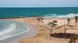 Sironit Beach in Netanya on Mediterranean coast of Israel