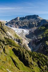 Sicht auf Aletschgletscher
