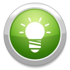 Light lamp sign icon. Idea concept. Light on.