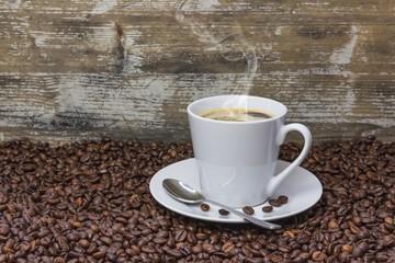 frischer Bohnenkaffee