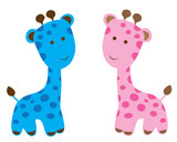 Baby Shower Giraffes