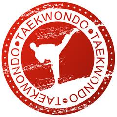 Sports stamp - Taekwondo