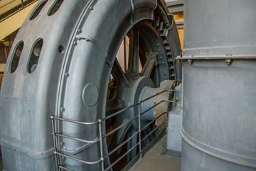 Turbina in una centrale termoelettrica