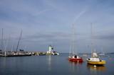 Fototapety Deux petits voiliers au port de la Flotte en Ré