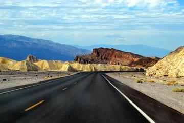 Road to Zabriskie Point