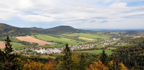 landscape Jeseniky, Czech Republic, Europe