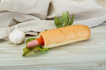 French hot dog