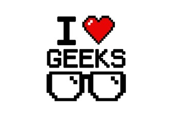 i love geeks glasses