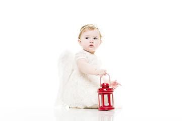 Little angel baby
