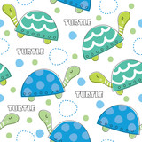 turtle pattern vector illustration
