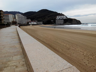 Paseo de playa