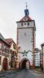 Leinwanddruck Bild - Prichsenstadt City